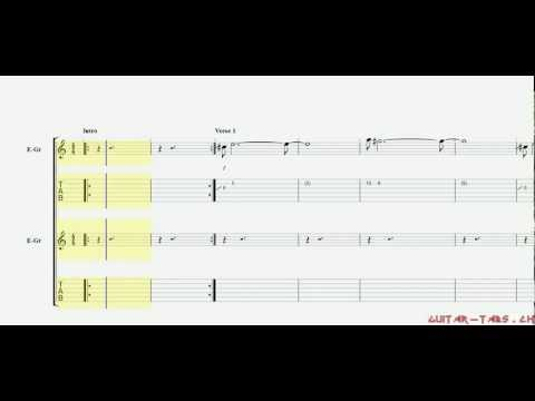 Rise Against Tabs - Satellite (rhythm)