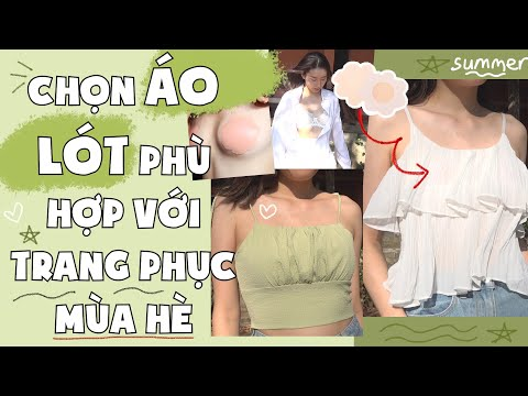8 KIỂU ÁO LÓT PHÙ HỢP VỚI CÁC TRANG PHỤC MÙA HÈ   PhuongHa