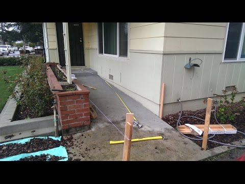 Building a Wheelchair Ramp...Planning & Layout (Part 1)