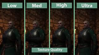 Детальное сравнение низких и ультра-настроек в The Witcher 3: Wild Hunt