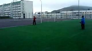 Бейсбол. Кусочек тренировки владивостокских бейсболистов.