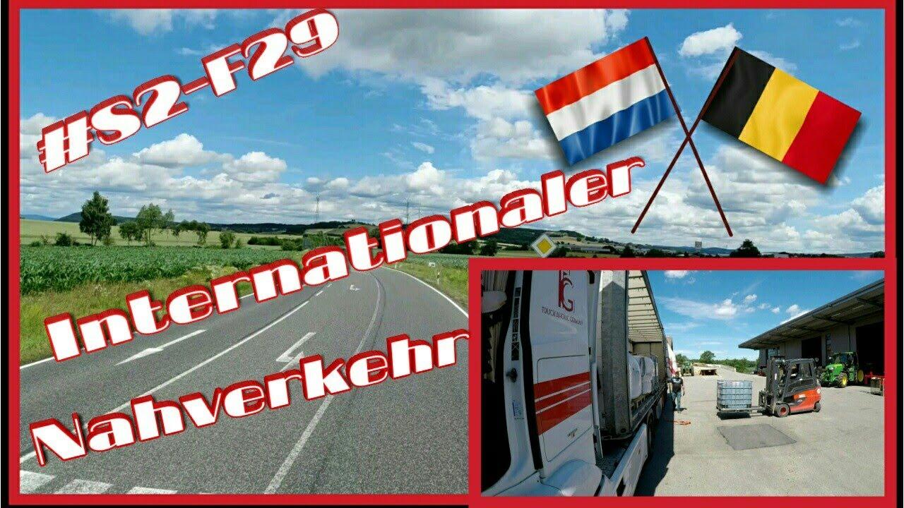 #S2-F29 Internationaler Nahverkehr/ Lkw Doku/ Truck Doku deutsch/ Fernfahrer Doku