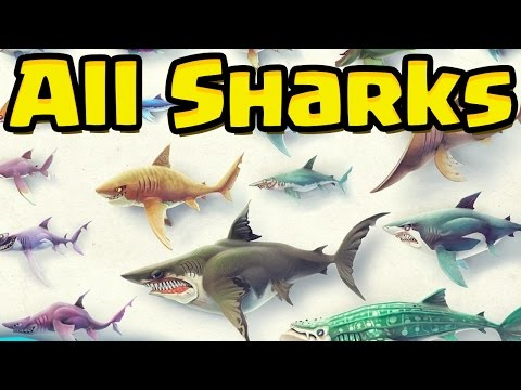 ALL SHARKS UNLOCKED - Hungry Shark World (HSW) - EPIC GAMEPLAY OF EVERY SHARK!