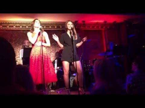 Melissa Benoist Singing with Laura Benanti at Feinstein