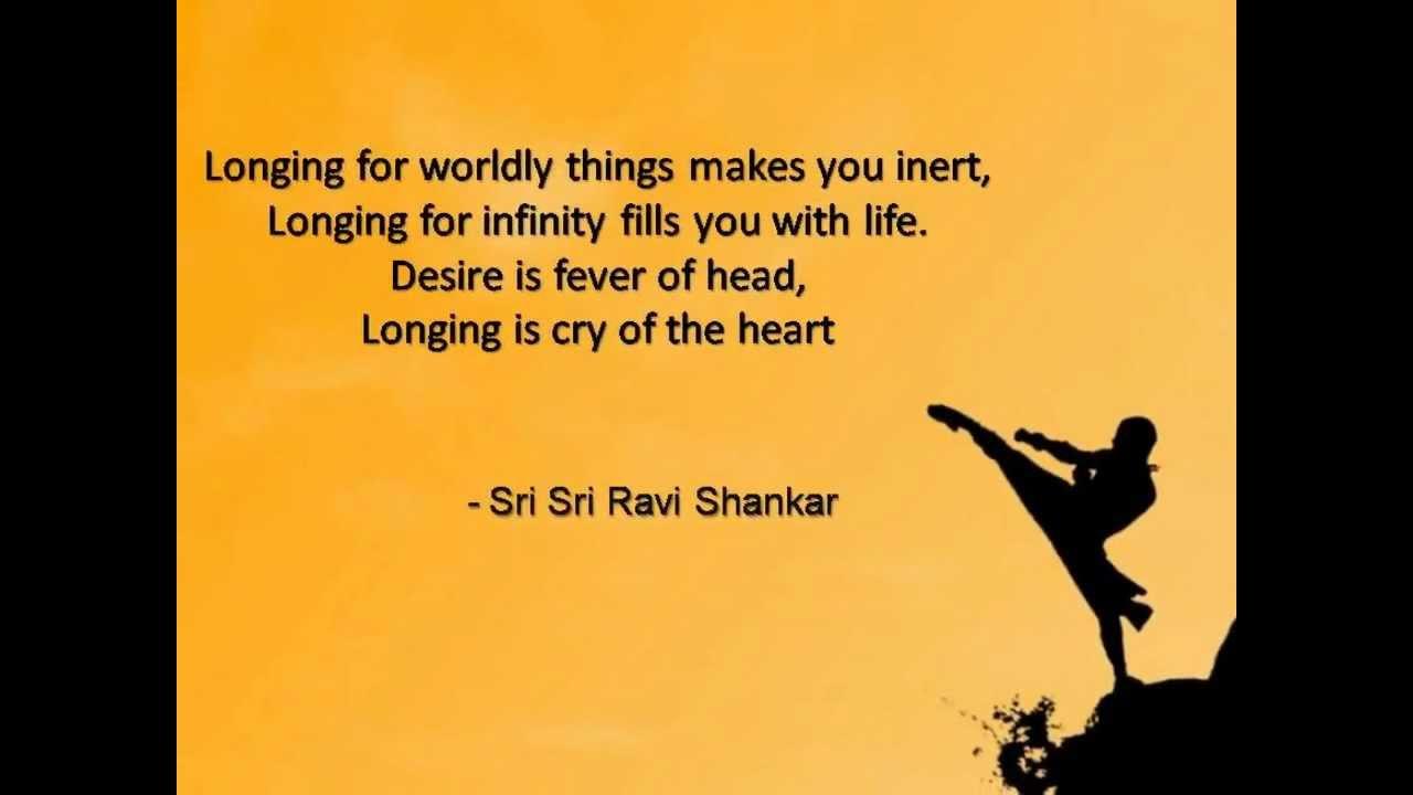 Sri Sri Ravi Shankar Inspirational Quotes By Sri Sri Youtube