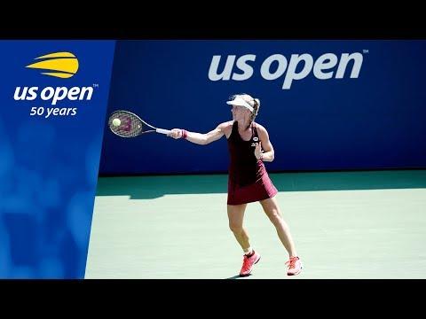 Kiki Bertens Defeats Kristyna Pliskova at the 2018 US Open