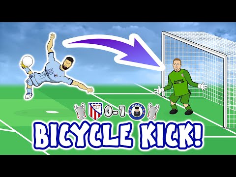💥Olivier Giroud Bicycle Kick!💥 Atletico Madrid vs Chelsea 0-1 Goals Highlights Champions League 2021 thumbnail