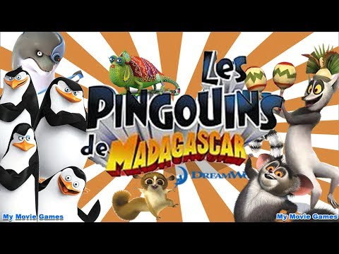 PINGOUINS DE MADAGASCAR FRANCAIS FILM COMPLET JEU Dreamworks Les Pingouins de Madagascar Movie Game