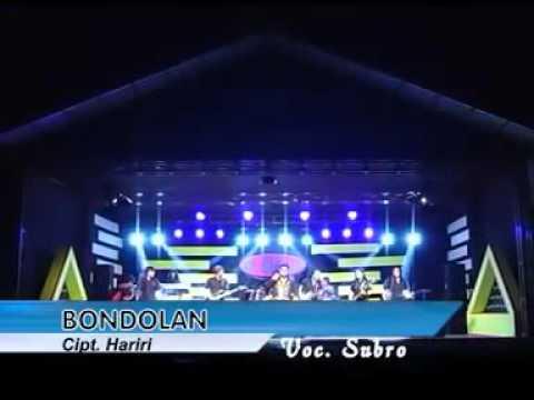 Bondolan Voc. Subro Bersama Monata.
