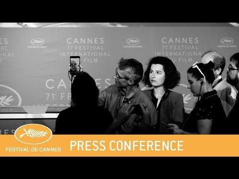 LE LIVRE D IMAGE - Cannes 2018 - Press Conference - EV