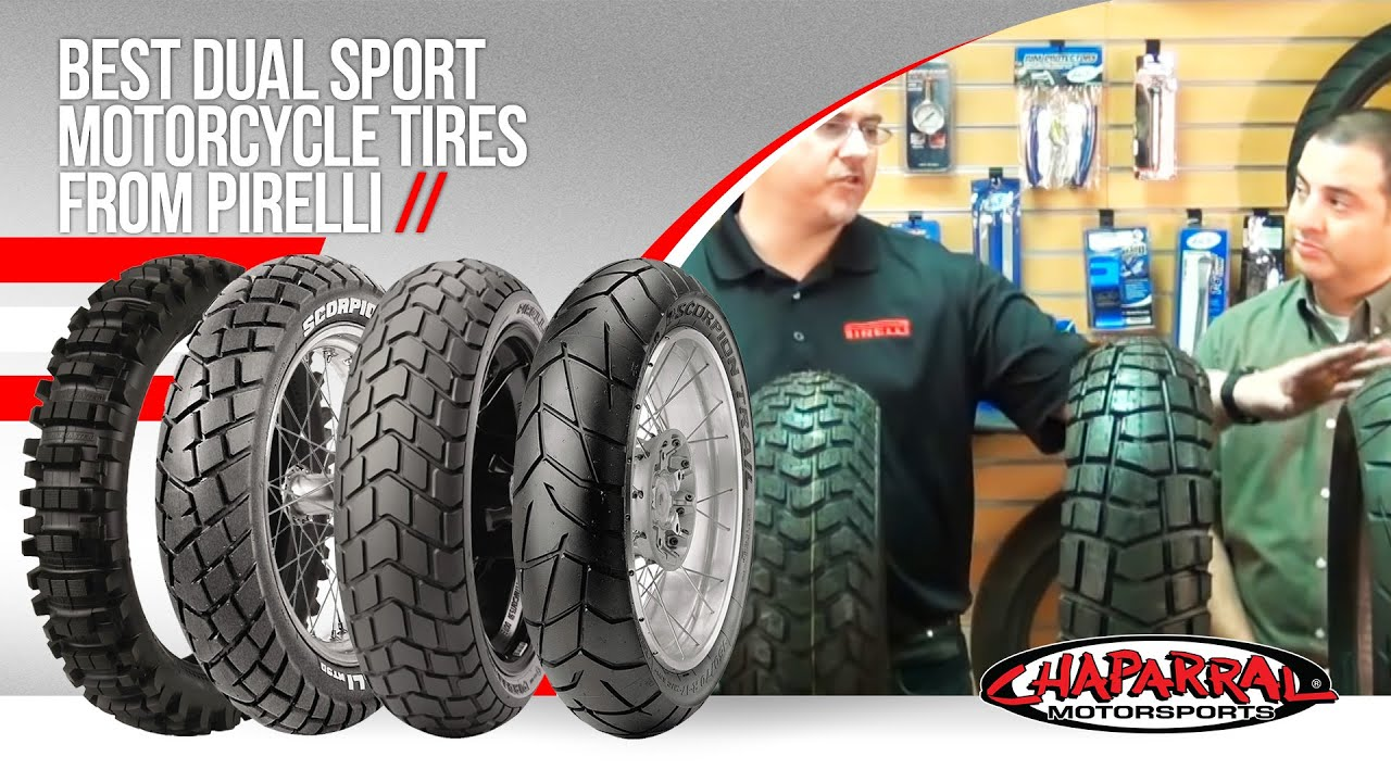 Tire Ratings Guide >> Pirelli Dual Sport Motorcycle Tire Buyers Guide | ChapMoto.com - YouTube