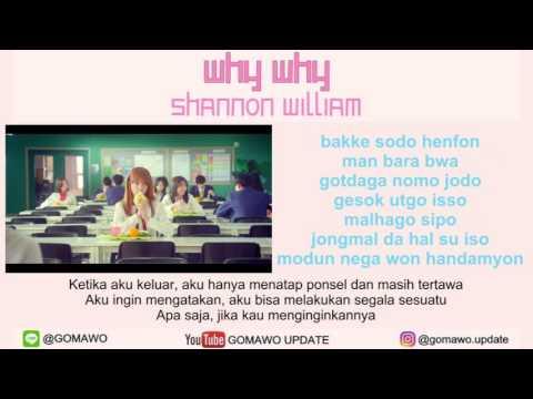 LIRIK SHANNON WILLIAM - WHY WHY by GOMAWO [Indo Sub]
