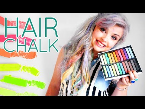 hair chalk youtube