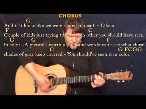 In Color (Jamey Johnson) Strum Guitar Cover Lesson in G with Chords/Lyrics