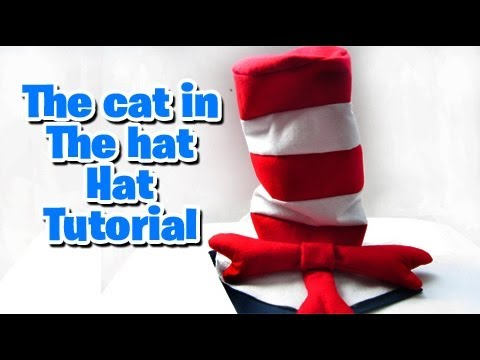 Homemade Cat In The Hat Cake