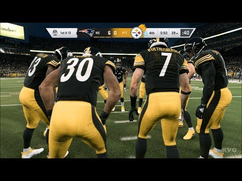 madden-nfl-20---pittsburgh-steelers-vs-new-england-patriots---gameplay-(pc-hd)-[1080p60fps]