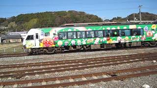 2019 01 JR・土讃線 後免駅 2000系・アンパンマンラッピング