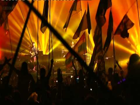 Coldplay What a Wonderful World / Fix you Glastonbruy 2011