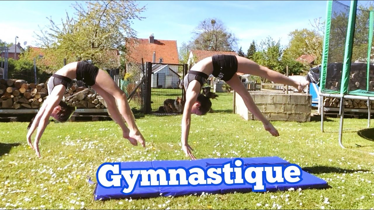 gymnastique dans le jardin youtube. Black Bedroom Furniture Sets. Home Design Ideas