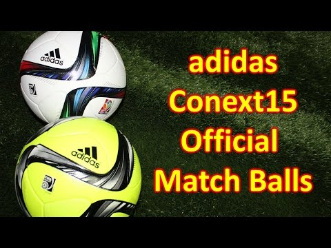 Adidas Conext15 Official Match Ball (2015 Fifa Women's World Cup) & Winter Ball Review