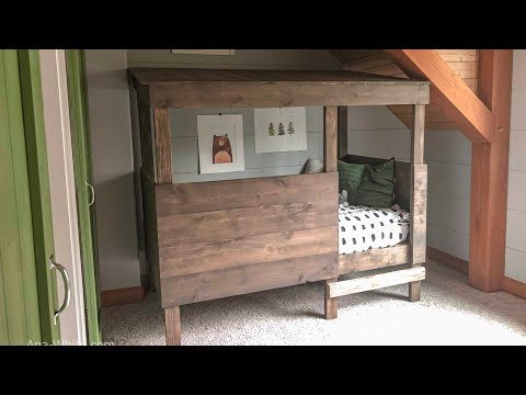 DIY: 2 Tool Treehouse Bed