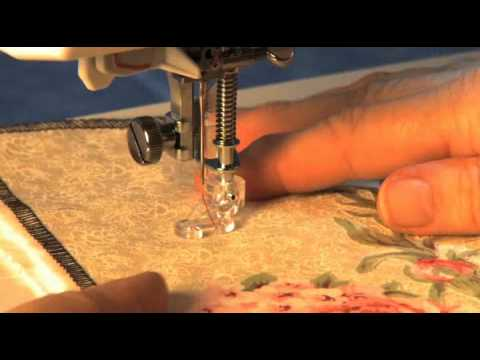 Janome Open Toe Quilt Set High Shank Video Using The Free Motion ... : janome free motion quilting - Adamdwight.com