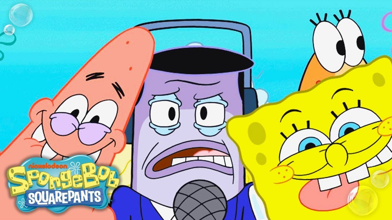 spongebob squarepants | perch perkins loves frozen krabby patties
