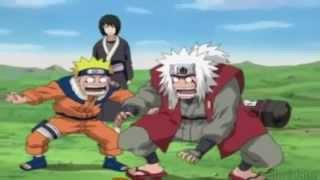 Jiraiya,Naruto, and Tsunade vs Kabuto and Orochima