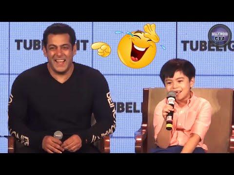 Salman Khan can't STOP LAUGHING on Matin Rey Tangu's STUPID JOKE
