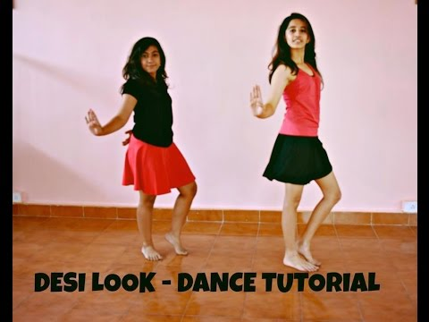 Desi Look- Sunny Leone: Bollywood Dance Tutorial | Dynamic Dance Duo