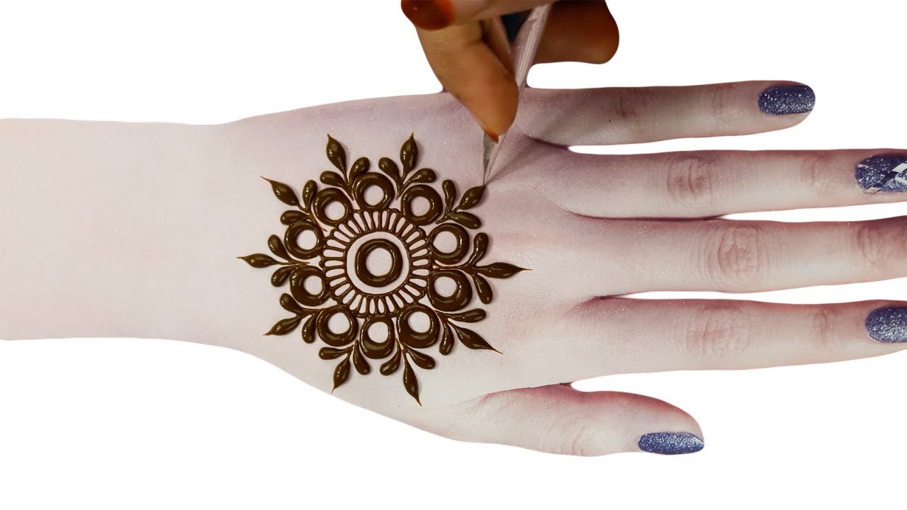 latest easy arabic mehndi design - arabic easy mehndi designs 2020