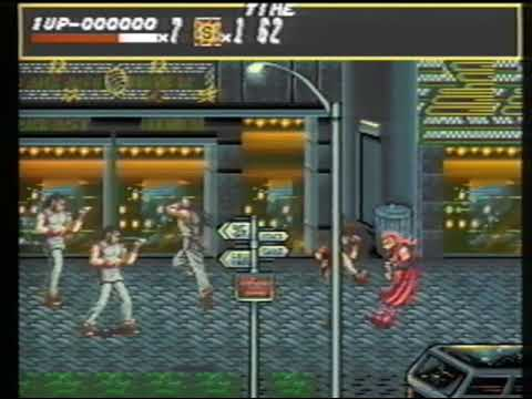 Streets of Rage 1 - Prototype preview.  