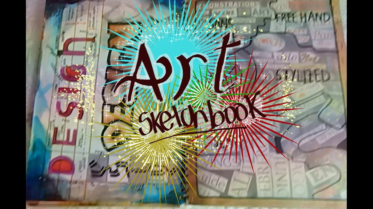 Igcse Art Sketchbook A Year 10 Youtube