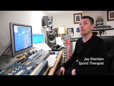 Jay Sheridan, Sports Therapist at The Ashgrove Clinic, Higham Ferrers