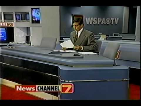 WSPA June 1996 Weekend 6pm Montage