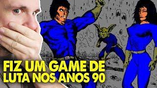 FIZ UM JOGO DE LUTA EM 1994! DRACSTAR SPACE FIGHTER (Gameplay em Português PT-BR)