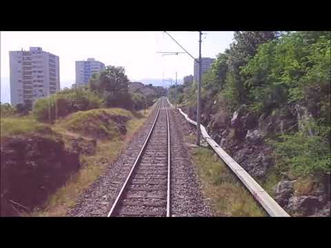 Cab ride train Rijeka-Šapjane Croatia
