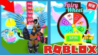 NEUE FAIRY UPDATE IN ROBLOX ICE CREAM SIMULATOR *FAIRY WHEEL & NEW FAIRY PETS*