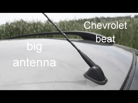 Installing New Top Model Antenna In My Car Chevrolet Beat (2019) Modification🔥