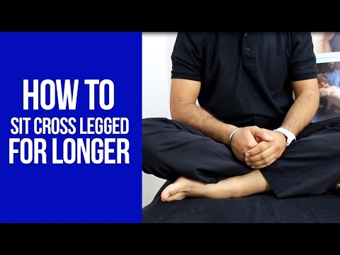 How to Sit Cross Legged for Long Periods of Time with Harbir Singh