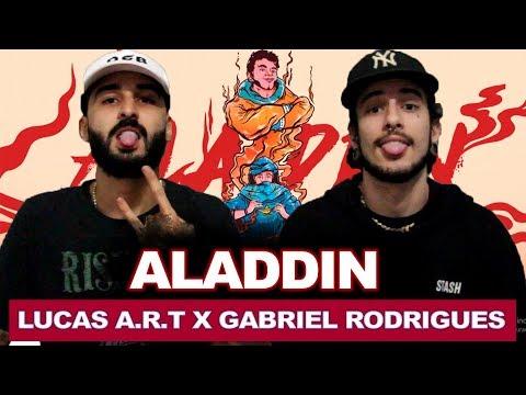 ALADDIN - Lucas A.R.T. E Gabriel Rodrigues [Prod. MaaBeatz]   REACT / ANÁLISE VERSATIL