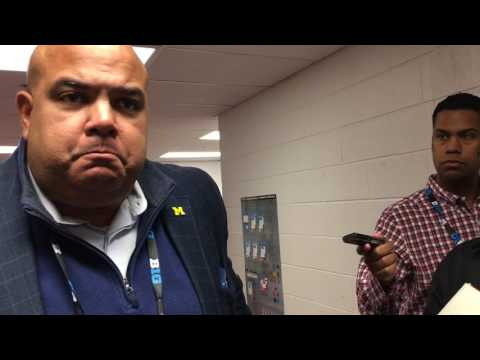 Warde Manuel discusses Michigan's travel problems, tip-off options