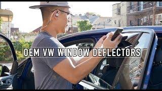 Video Window Deflectors for the MK7 GTI R: WeatherTech vs OEM download MP3, 3GP, MP4, WEBM, AVI, FLV April 2018