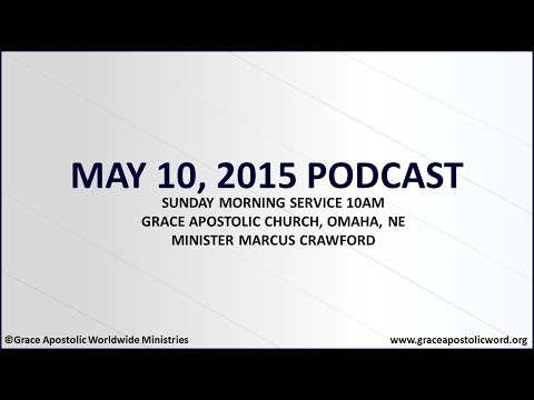 May 10, 2015 Podcast