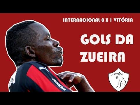 GOLS DA ZUEIRA - Internacional 0 x 1 Vitória