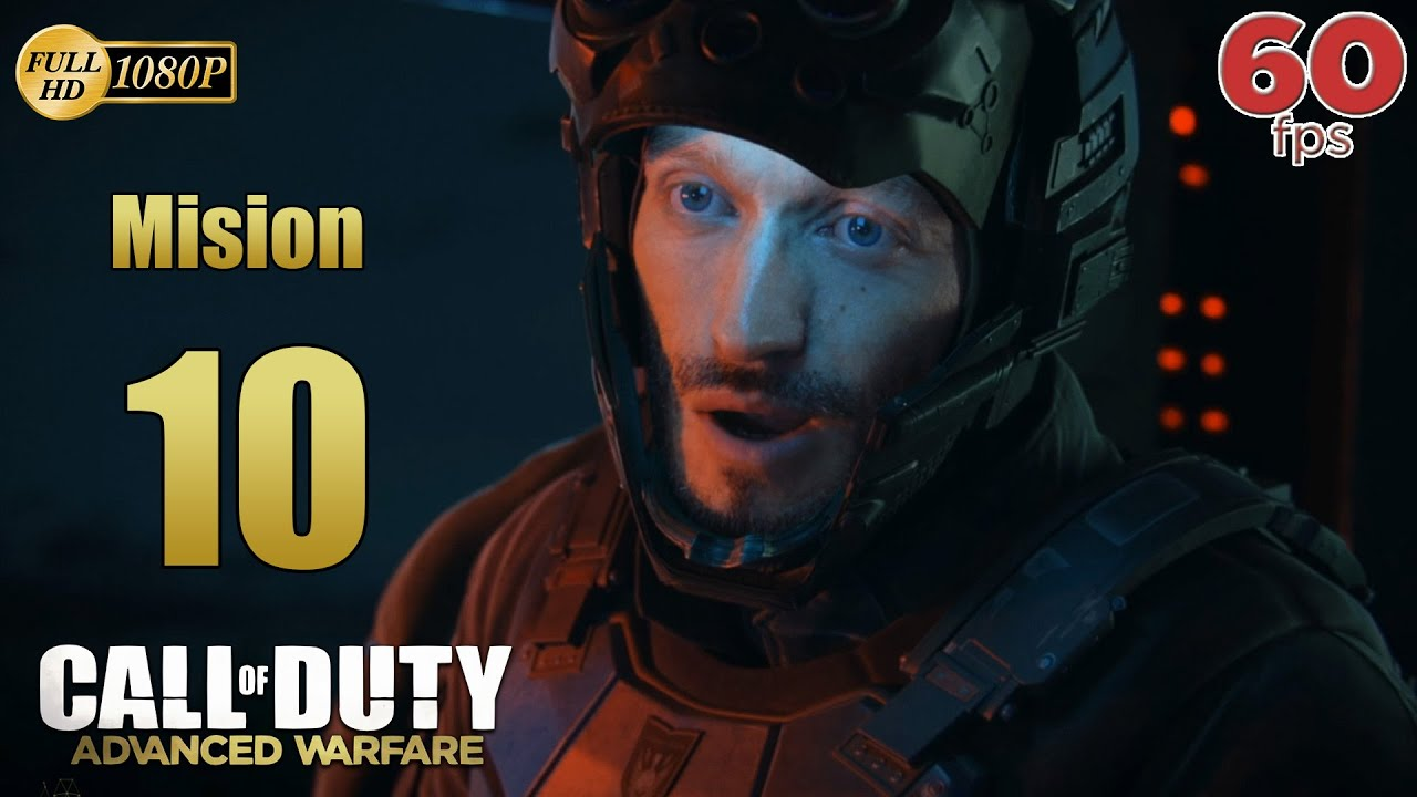 Call of Duty Advanced Warfare Mision 10 Biolaboratorio | Español Gameplay PC PS4 XboxOne 60 fps