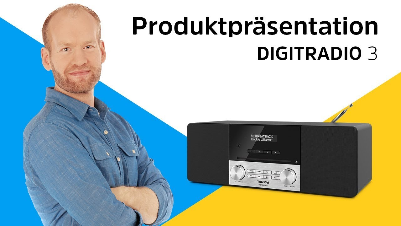 "Video: DIGITRADIO 3 | Digitalradio der Spitzenklasse ""Made in Germany"". 