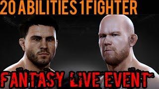 EA SPORTS UFC Mobile - Fantasy Live Event: Carlos Condit / Tim Boetsch Live Event Prize!