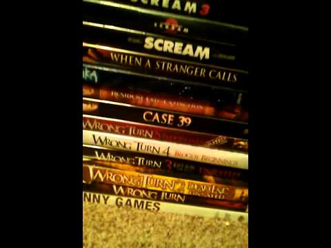 My 2013 Horror DVD BluRay Collection