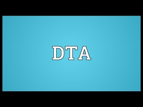 DTA Meaning